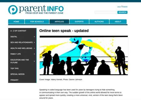 Parental Texting Dictionaries - This Online Slang Dictionary is an Educational Tool for Parents