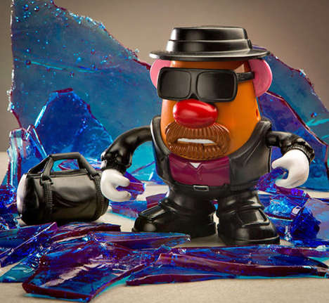 Crime Boss Potato Toys - This Mr. Potato Head Doll Wears the Breaking Bad Heisenberg Hat