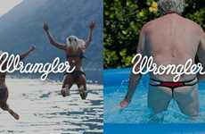 Wrangler Jeans Playfully Portrays Different Visual Messages