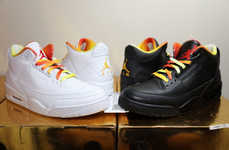 Pricey Rapper Kicks - These Drake vs Lil Wayne Air Jordans Have a Very Exuberant Price Tag