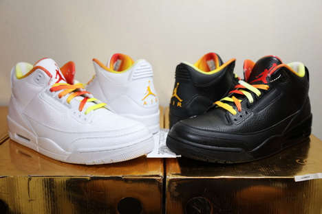 Pricey Rapper Kicks - These Drake vs Lil Wayne Air Jordans Have a Very Exuberant Price Tag
