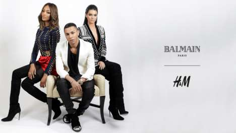 Luxurious Discount Couture - The Balmain x H&M Collection Hits Stores November 5th