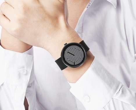Optical Illusion Timepieces