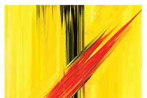 These Reimagined Movie Posters Resemble Abstract Paintings