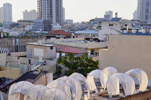 This Creative Artwork Display Reflects Bedouins Tents of Israel