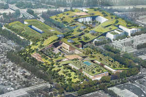 This Plan Proposes the Largest Green Roof in the World