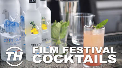 Film Festival Cocktails - The Grey Goose Brand Ambassador Unveils Exclusive 2015 TIFF Cocktails