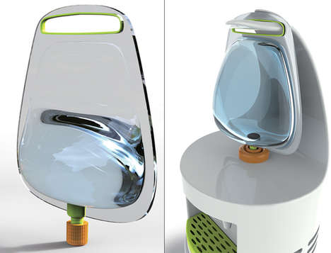 Sanitary Water Dispensers - These Portable Water Bags Feature Safer Drinking Water On the Go