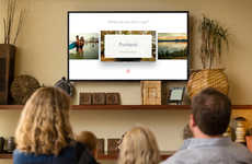 Televisual Travel Apps - Airbnb Rentals are Now Brought to Life Through Apple TV