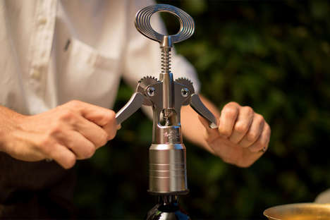 Oversized Wine Openers - This Heavy-Duty Corkscrew is Designed to Open Any Bottle