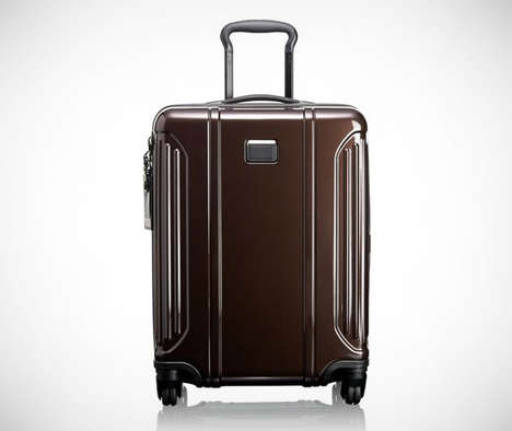 Lightweight Polymer Luggage - The TUMI Vapor Lite Baggage Cases Feature a Durable Outer Shell
