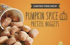 Festive Pumpkin Pretzels - Auntie Anne's Bite-Size Pumpkin Spice Bites the Celebrate Fall Season