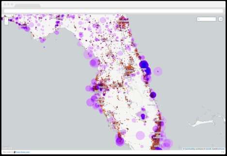 Map-Creating Apps - CartoDB Allows Users to Create Impressive Data Maps with One Click
