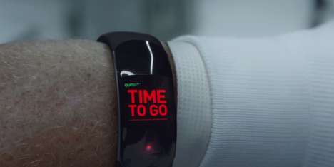 Deathly Wearable Campaigns - The Mount Pleasant Group's Funeral Home Ad Mocks Wearable Devices