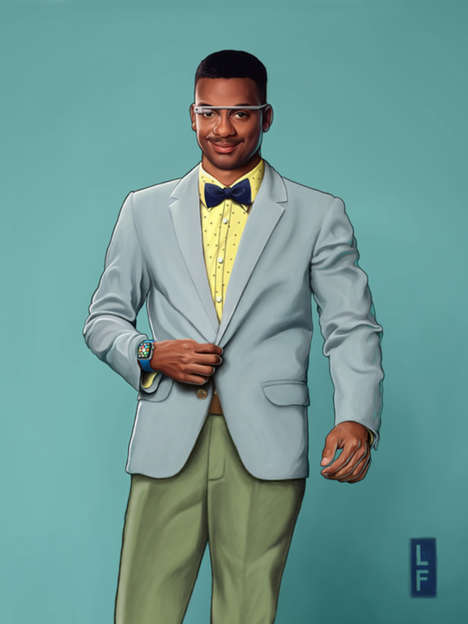 Sartorial Sitcom Characters - This Photo Series Re-Imagines 'Fresh Prince' Characters in 2015
