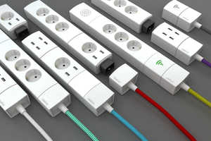 This Customized Power Bar Can Be a Wifi Portal or USB Charger
