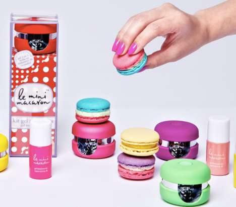 Dessert-Shaped Nail Dryers - This Gel Manicure Kit is Inspired by Delicate French Desserts