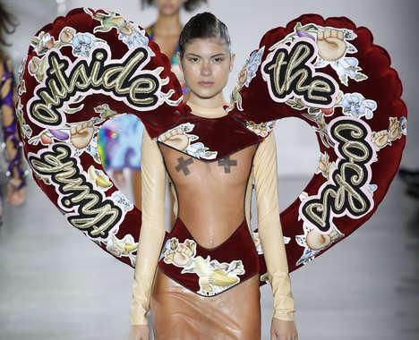 Exaggerated Collaborative Fashion