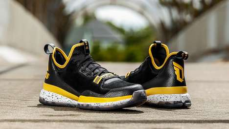 Californian NBA Sneakers - Damian Lillard Collaborated with adidas to Create This Oakland Colorway