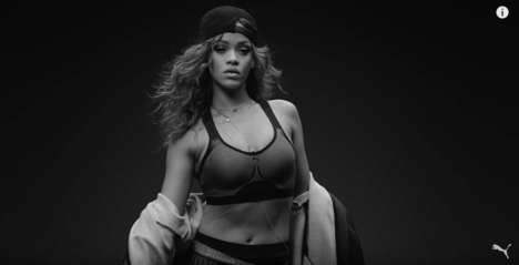 Songstress Sportswear Ads - The PUMA Fall/Winter 2015 Campaign Features Singer Rihanna