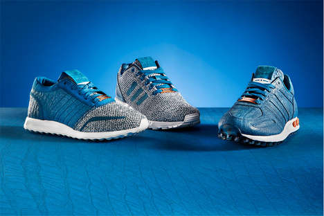 Chic Sneaker Collaborations - The Italia Independent x adidas Originals Collection is Sporty and Fun
