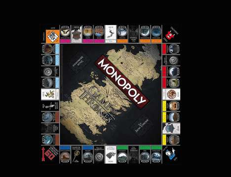 Medieval Conquest Boardgames - Game of Thrones Collector's Edition Monopoly is for Hardcore Fans