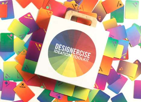 Cognitive Design Games - The 'Designercise' Board Game Enhances a Player's Creative Thoughts