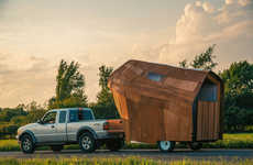 Mobile Housing Projects - The +FARM Project Features Homes Designed by Students