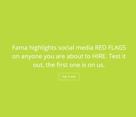 Employee Media Screeners - The Fama Technologies Software Scans Prospective Employee's Social Media