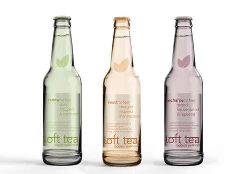 Hemp Tea Beverages - Loft Teas' Bottled Teas Contain Traces of Cannabidiol Derived from Hemp