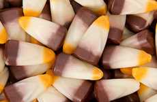 Campfire Corn Candies - Brach's Halloween Candy Corn Tastes Like S'mores