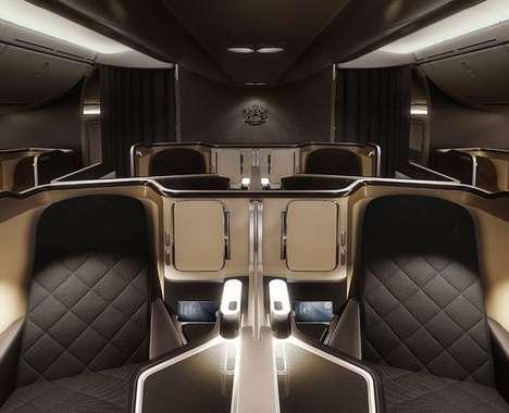 Luxurious First Class Cabins