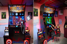 Oversized Arcade Games - Jason Camberis Breaks the World Record for Largest Arcade Machine