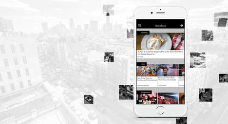 Hyper-Local News Platforms - This App Curates News Stories Based on a User's Exact Location