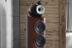 The B&W 800 Series Diamond Speakers Provide Style and Superior Sound