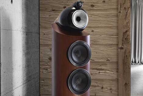 Powerfully Precise Speakers - The B&W 800 Series Diamond Speakers Provide Style and Superior Sound