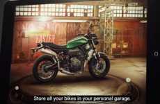 Motorcycle Customization Apps - 'Yamaha My Garage' Lets Users Build a Custom Motorcycle Virtually