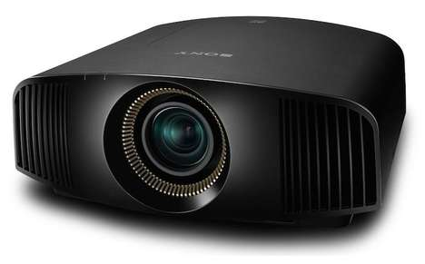 Cinema-Quality Projectors - The New Sony 4K Projectors Will Transform a Home Theater Experience