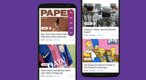33 Customizable News Apps - From Photo-Focused Journalism Apps to Bias-Fighting News Services