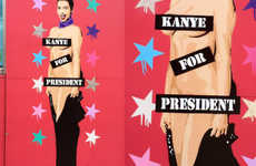 Scandalous Celebrity Murals - This Mural Commemorates Kanye West's 2020 Presidential Bid
