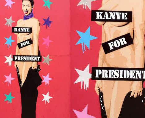 Scandalous Celebrity Murals