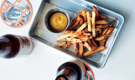 Pickled French Fries - These Fresh Cut French Fries are Aged with a Salt and Vinegar Solution