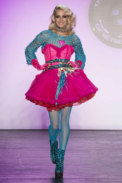 Exaggerated Dance Attire - The Betsey Johnson S/S Collection Offers Dance Costumes From Five Eras