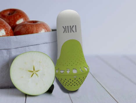 Ripe Fruit Detectors - This Device Notifies When It's the Right Time to Eat Fruit