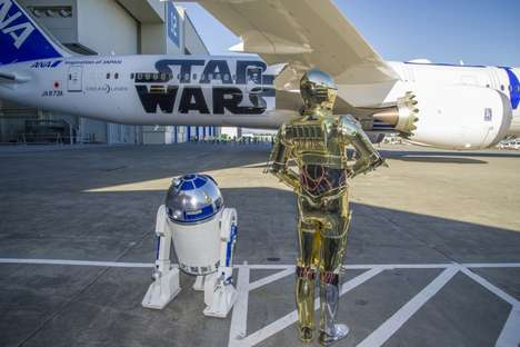 Cinematic Drone Planes - This Boeing Base Was Transformed in Theme of the New Star Wars Film