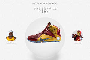 This Artist Made Renderings of NBA Superhero Hybrid Sneakers