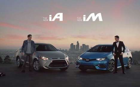Dual Personality Car Ads - This Ad Features James Franco and His Alter Ego Cruising in a Scion
