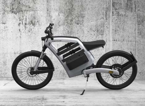 Electric Cargo Bicycles - The FEDDZ Bike Offers a Stylish Accessory Compartment to Hold Your Stuff