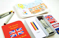 Kid-Friendly Airline Kits - This On-Board Activity Kit Features Games, Puzzles and Art Supplies