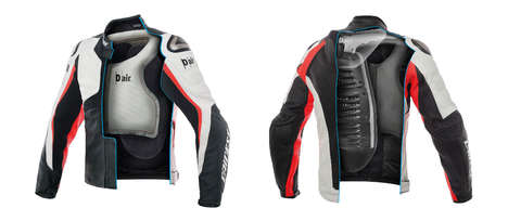 Wearable Airbag Jackets - These Airbag Jackets Don't Rely on Motorcycle Signals for Release